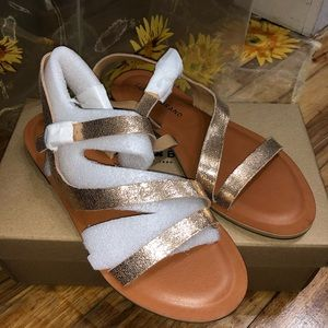 Lucky Brand Alexcia Suede Sandal
